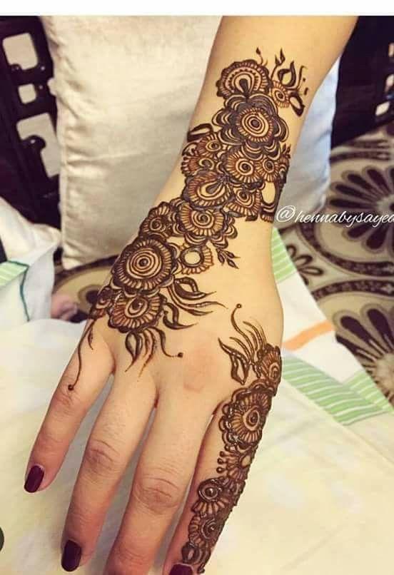 Mehndi Hands For Dp : Mehndi design dp makedes