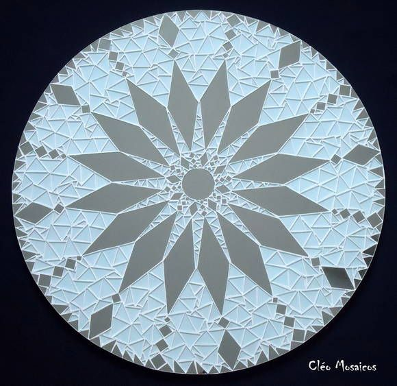 Mandala em Mosaico 70cm