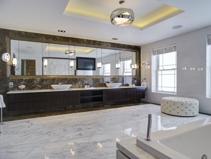 Una vivienda de lujo con acento british for Lujo interiores minimalistas