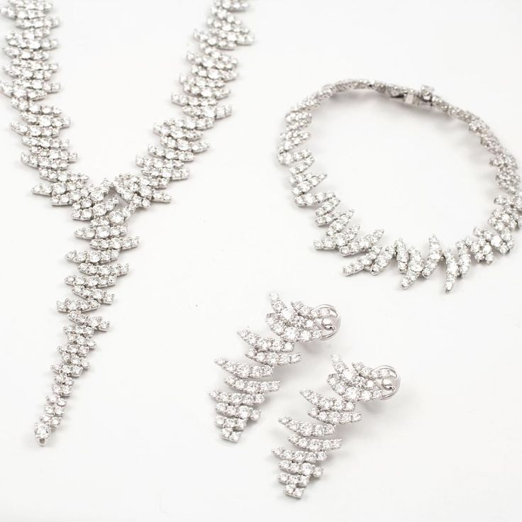 This diamond jewellery set is simply fabulous! Discover the #PaulSheeran collection
