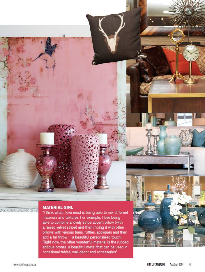 Zilli Home chats with City Life Magazine