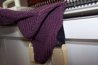 Machine Knit Sock Tutorial