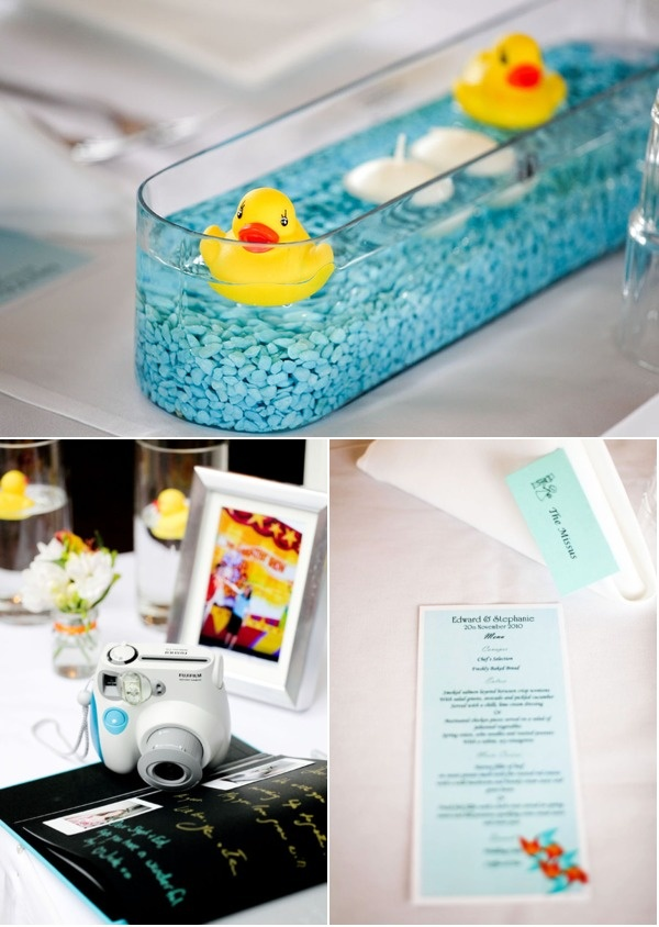 cute baby shower centerpieces