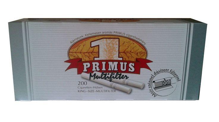 Tuburi tigari Primus Multifilter cu carbon activ - 1 cutie de tuburi pentru tigari contine 200 tuburi goale; culoare filtre tigari: alba; culoare foita tigara: alba; dimensiune tub - standard. Pentru comenzi si alte detalii: www.tuburipentrutigari.ro