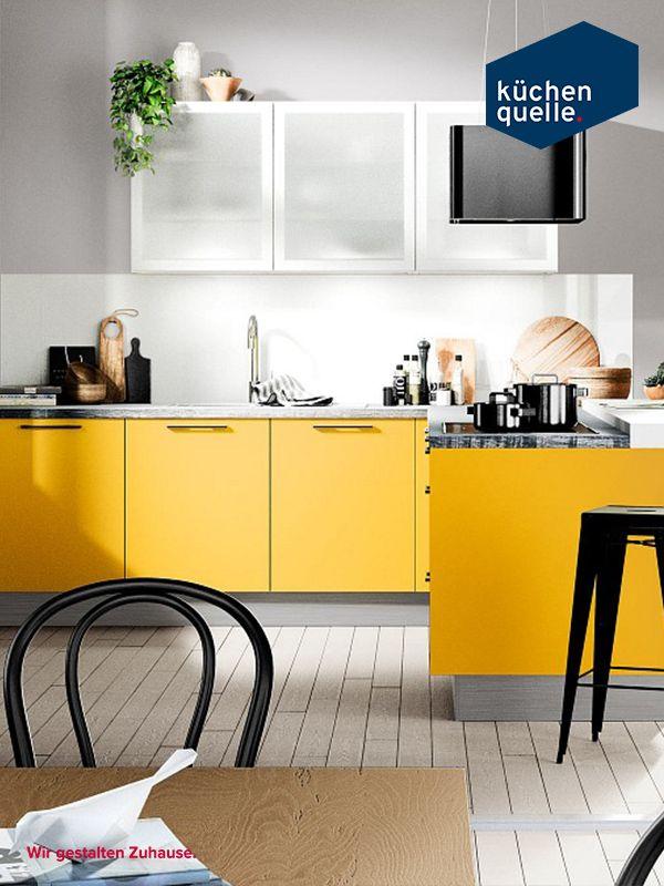 9 best Gelbe Küchen images on Pinterest | Yellow kitchens ...