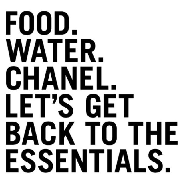 Water, Chanel, Inspiration, Life, Essential, Style, Food, Fashion Quotes, Living