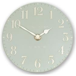 A beautiful duck egg blue mini mantel clock