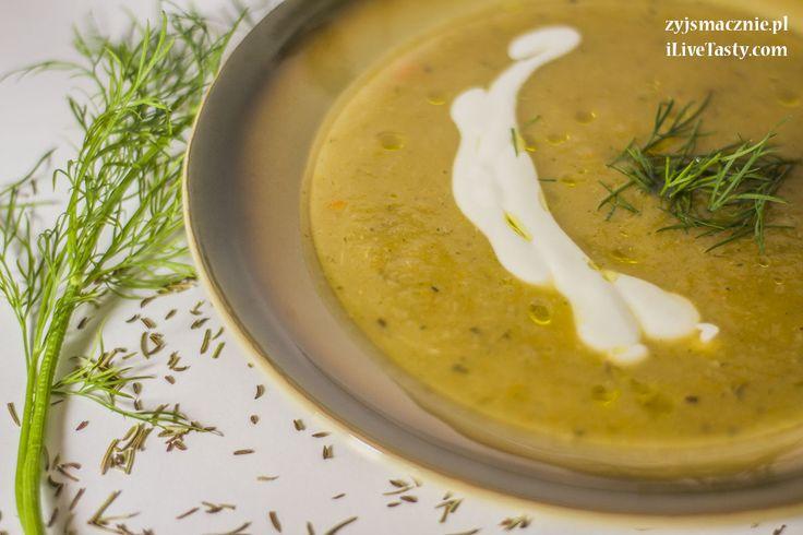 Potato and onion cream soup