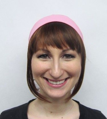 how to wear headband with hair down