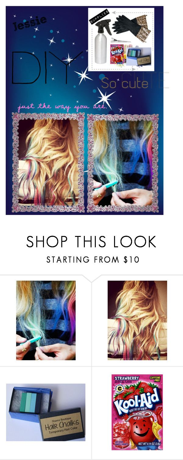 """Dip-Dyed Hair"" by dancing-tip-gurlz ❤ liked on Polyvore featuring beauty and Free People"
