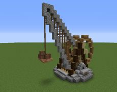 Steampunk Crane - GrabCraft - Your number one source for MineCraft buildings, blueprints, tips, ideas, floorplans!