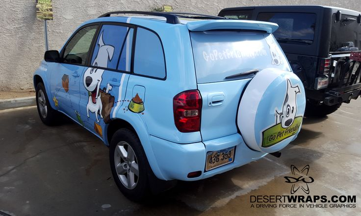 A recent wrap we finished for @GoPetFriendly. They are ready to take their vehicle and advertise as they go. #VehicleWrap #Wrap
