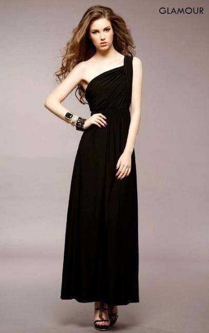 GLAMOUR Dlouhé dámské šaty, společenské šaty, plesové šaty