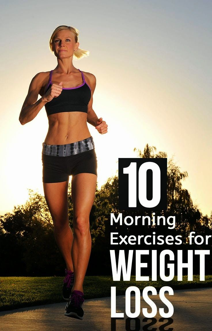 10 Effective Morning Exercises for Weight Loss | Remediesly