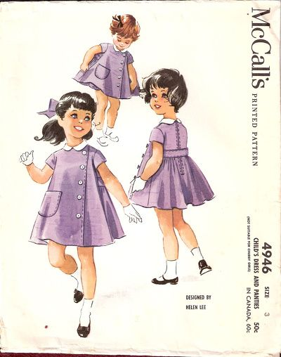 M4946 by Helen Lee, 1959, love vintage patterns!