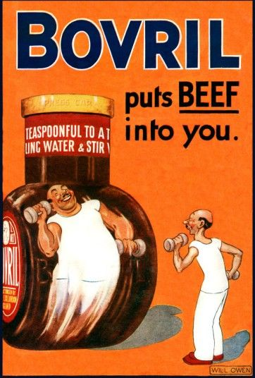 From Bovril to Bird's custard: retro food advertisements from some of   Britain's most beloved brands.