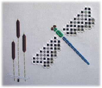 Hardanger designs by Mabel Figworthy's Fancies - Resurrection