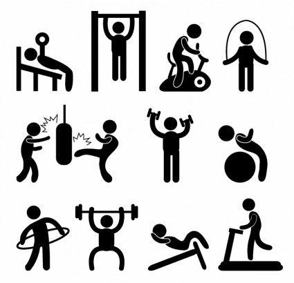 Sportovní Tělocvična Gymnázia cvičení