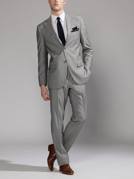 The 25  best Grey suit brown shoes ideas on Pinterest   Grey ...