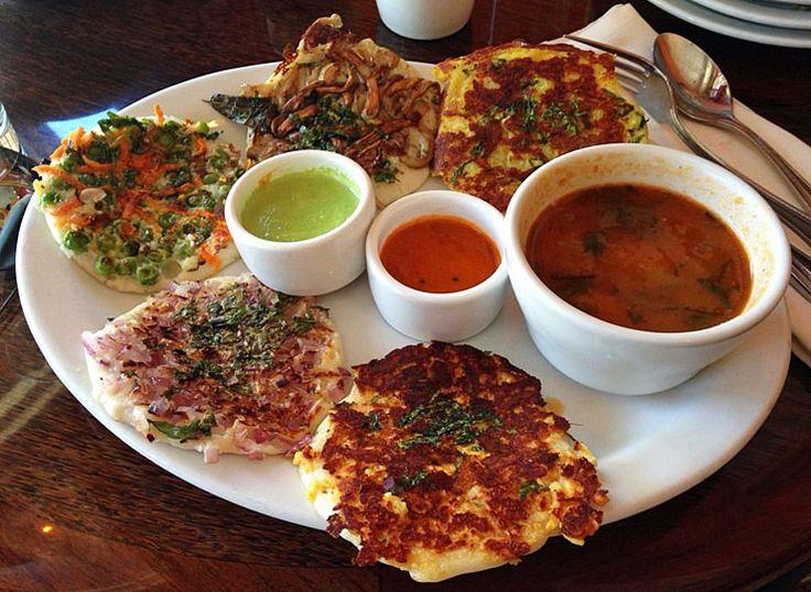 Uttapam: desayuno indio