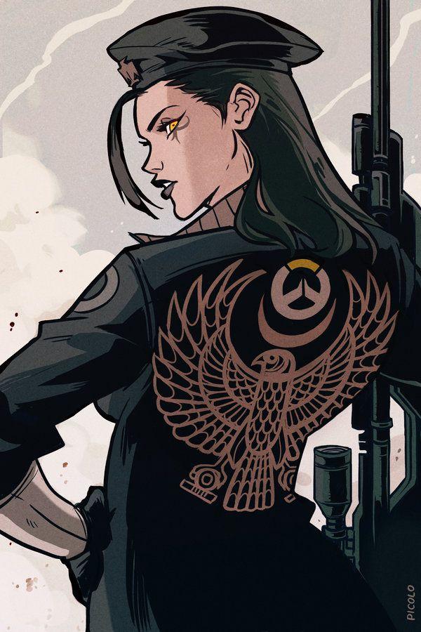 Ana Overwatch by Picolo-kun.deviantart.com on @DeviantArt - More at https://pinterest.com/supergirlsart #fanart