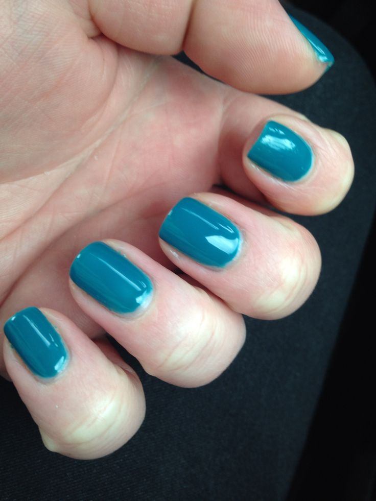 New nails #orlyfx #tealunreal