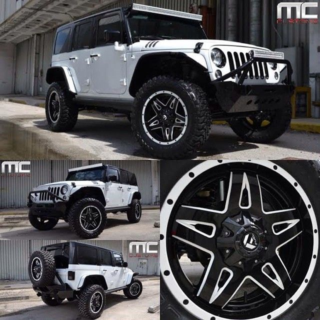 Jeep Wrangler Rubicon with custom painted black top, smittybuilt front and rear bumpers, LED roof and front light bar. Electric Side steps, custom hood, custom interior, and audio upgrade. Custom...