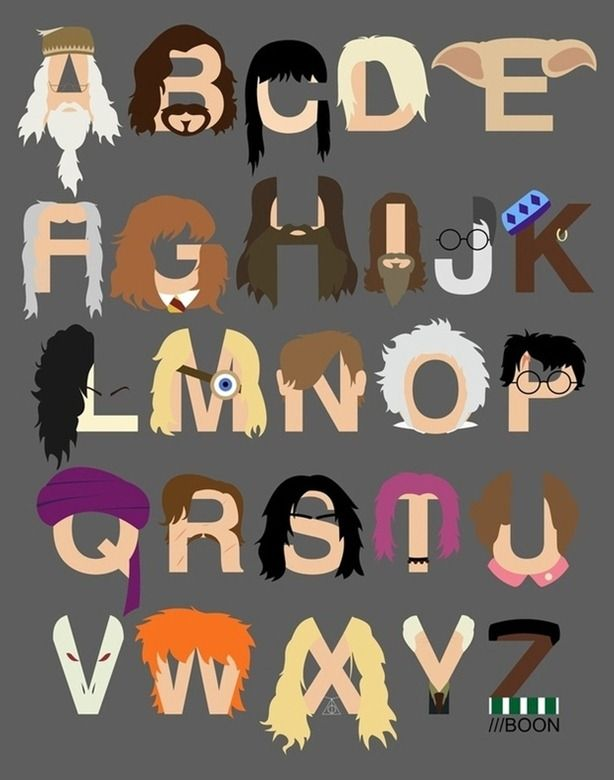 El alfabeto de Harry Potter