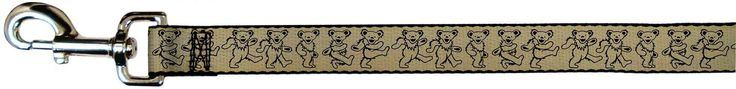 Grateful Dead Psychedelic Rock Band Dancing Bears Fun Animal Pet Dog Cat Leash *** For more information, visit image link.