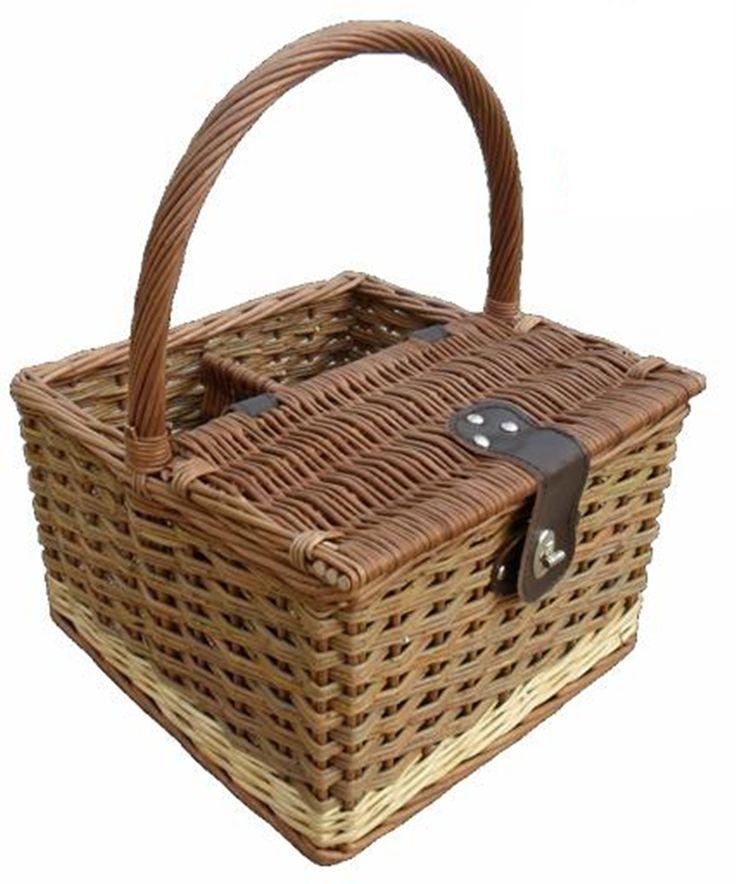 Red Hamper - Two Tone Hambledon Empty Picnic Basket, £33.50 (http://www.redhamper.co.uk/two-tone-hambledon-empty-picnic-basket/?page_context=search