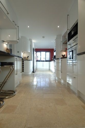 Kitchen stone tile gallery - Terzetto Natural Stone wall, floor and mosaic tiles for kitchens
