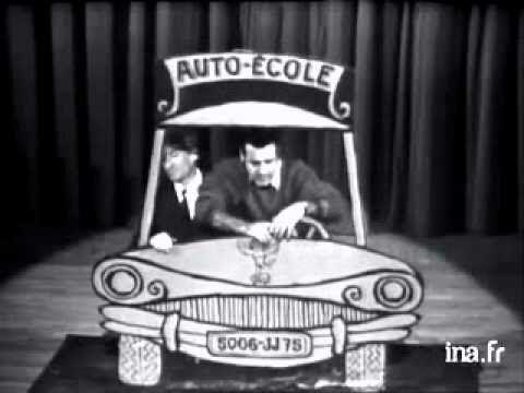 Hommage à Jean Yanne et Laurence Riesner... et au permis de conduire ! - YouTube