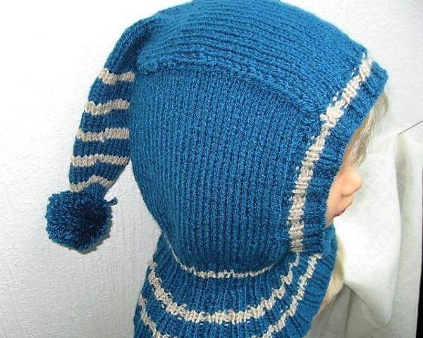 Häkle jetzt für Dein Kind bis 2 Jahre eine Mütze // Schalmütze mit Schulterkragen, damit der Nacken im Winter angenehm warm bleibt. Leg gleich los damit.