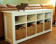 77 best images about SOFA TABLE I could MAKE myself on Pinterest