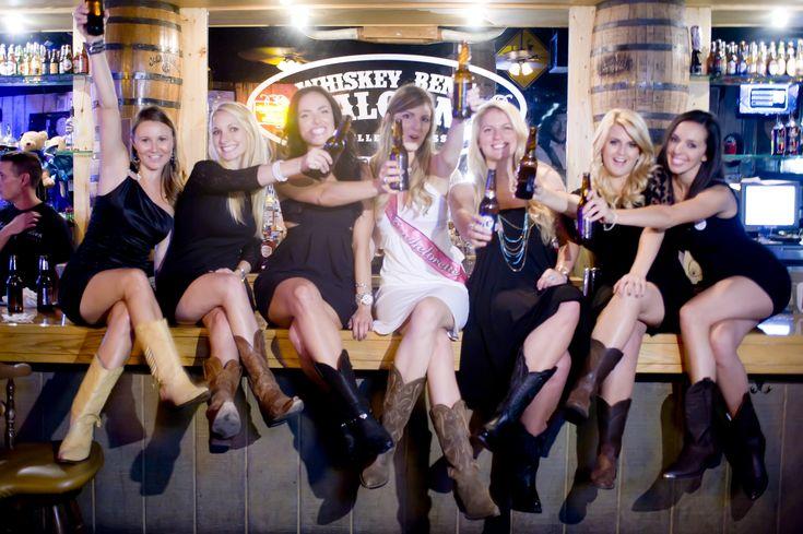 Whiskey Bent saloon bachelorette party via bachelorettenashville.com!
