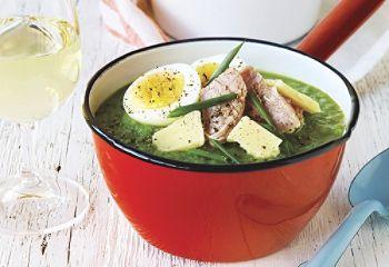 Soupe-repas verde