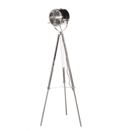 Showdown Chrome Tripod Lamp sweet pea & willow £285