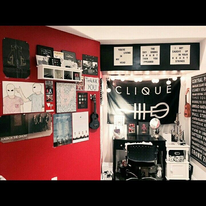 Skeleton Clique Room>>the dream