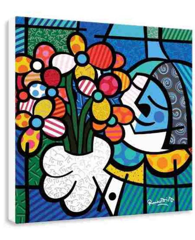 Romero Britto, flowers for you