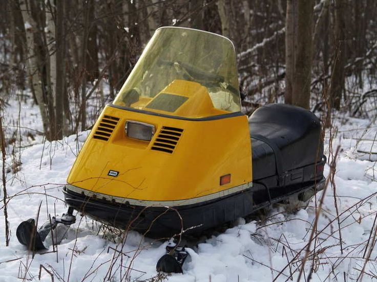 Ski Doo Bombadier My bros and I rode on like this around and around our yard