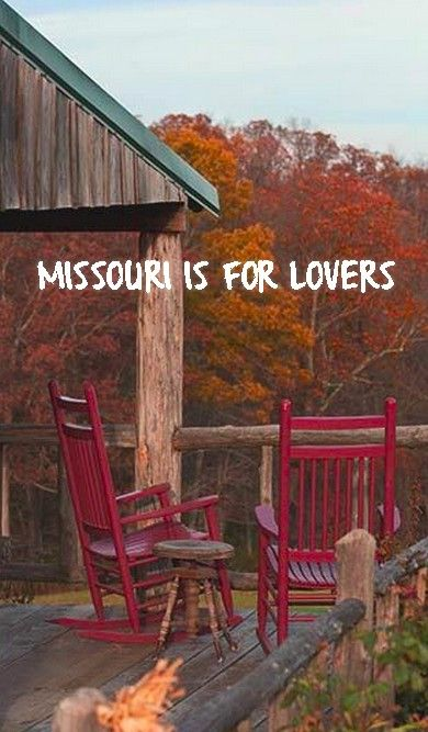 Sometimes all you need for a romantic getaway to unplug is a visit to the Show Me State!