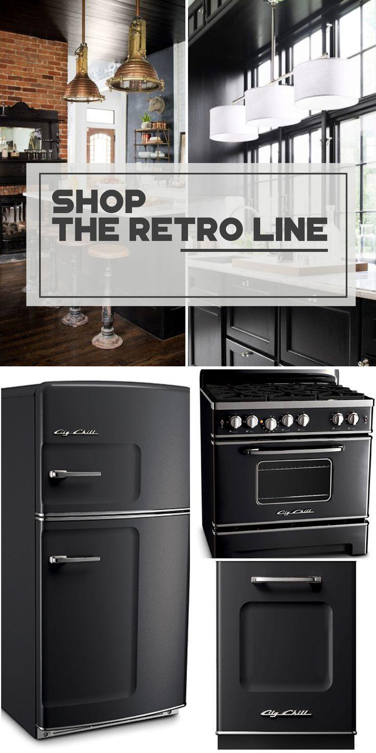 25 best black appliances ideas on pinterest kitchen black the retro kitchen appliance product line
