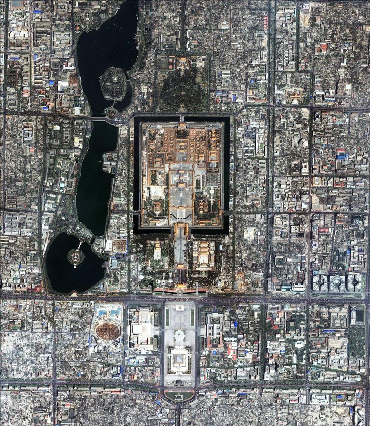 Forbidden City (worlds largest palace - 980 buildings and 8700 rooms or chambers)