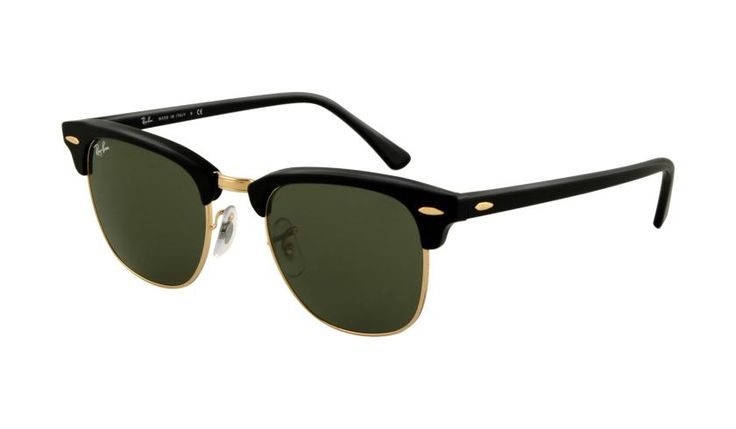 Ray-Ban® Clubmaster® sunglasses are retro and timeless, and as fashionable today as they were when they were the sunglasses of choice of counter-culture intellectuals and civil rights... More Details