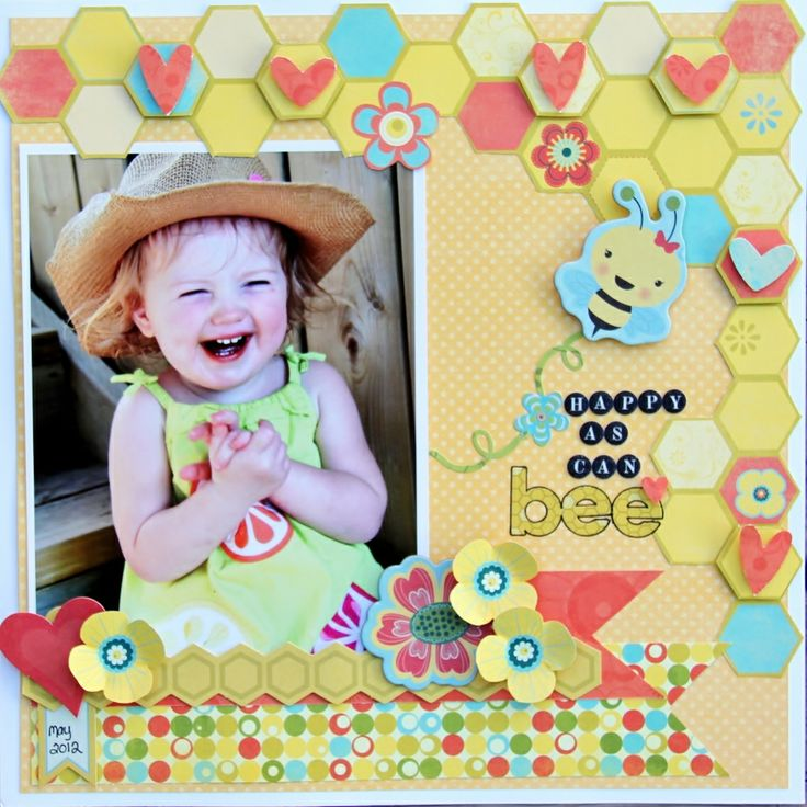 Bo Bunny hello sunshine layouts - Google Search