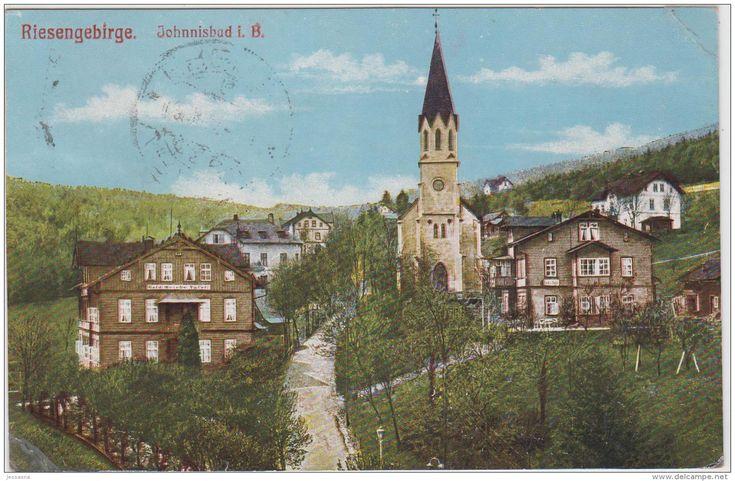 AK - Tschechien - Riesengebirge - Johannisbad I. B. 1909 - Tchéquie