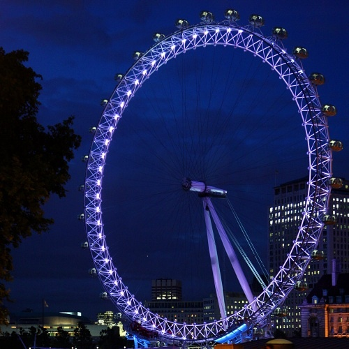 The London Eye.  Must be an awesome view from up top!!!
