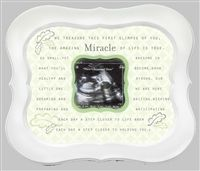 33 best ultrasound pregnancy keepsakes images on pinterest miracle ultrasound frame nursery decor from the grandparent gift co negle Choice Image