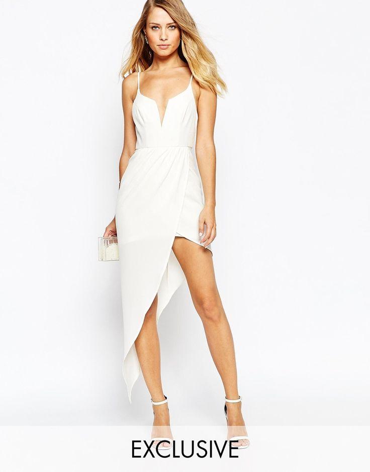 Ginger Fizz Asymmetric Dress