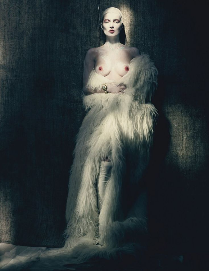 Kate Moss by Paolo Roversi, W Magazine, April 2015.